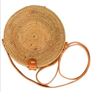 Handbags - Handmade Rattan Crossbody Bag